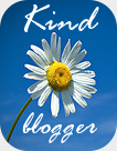 Win a kind blogger badge.